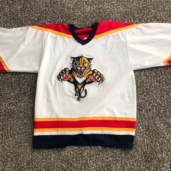 6da1b0bff CCM Other - Vintage CCM Florida Panthers NHL Jersey